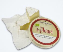 Camembert fermier bio au lait cru Le Fleurie,  250g